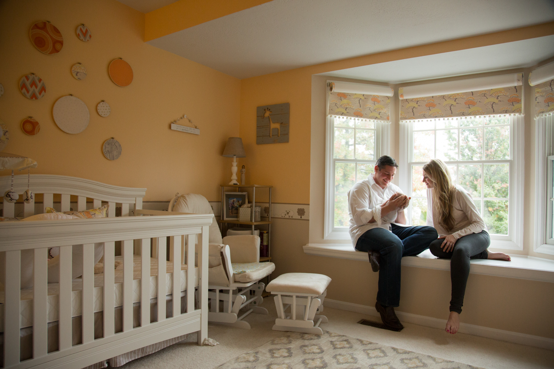 in home nursery newborn photography
