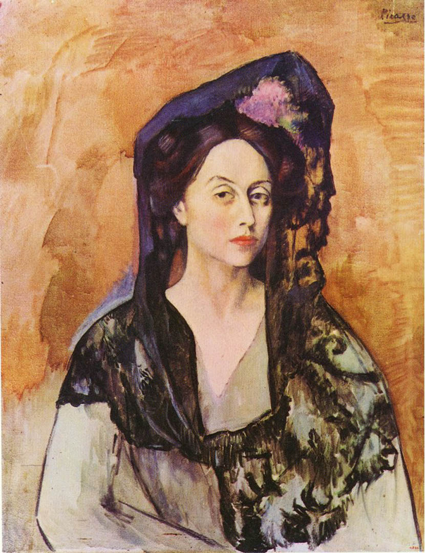 - When your great aunt was the muse to Picasso, I suppose nothing is too much for you. Roxana's great aunt's portrait by the Master shows a quiet determination and great elegance.