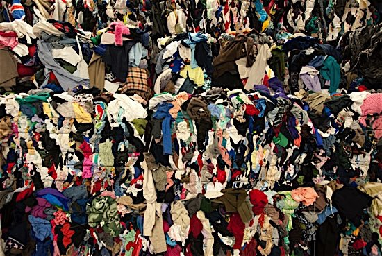 85% of our apparels end up in a landfill. -