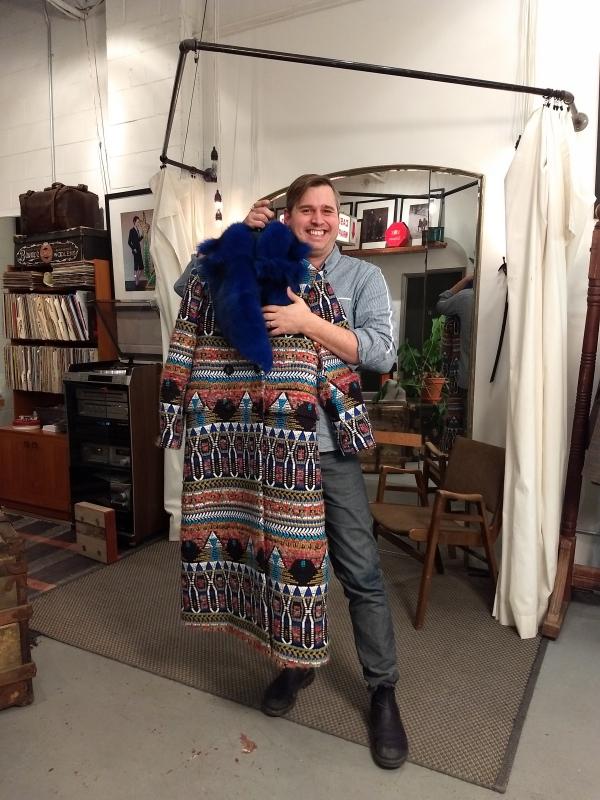 Proud tailor, Philip Sparks