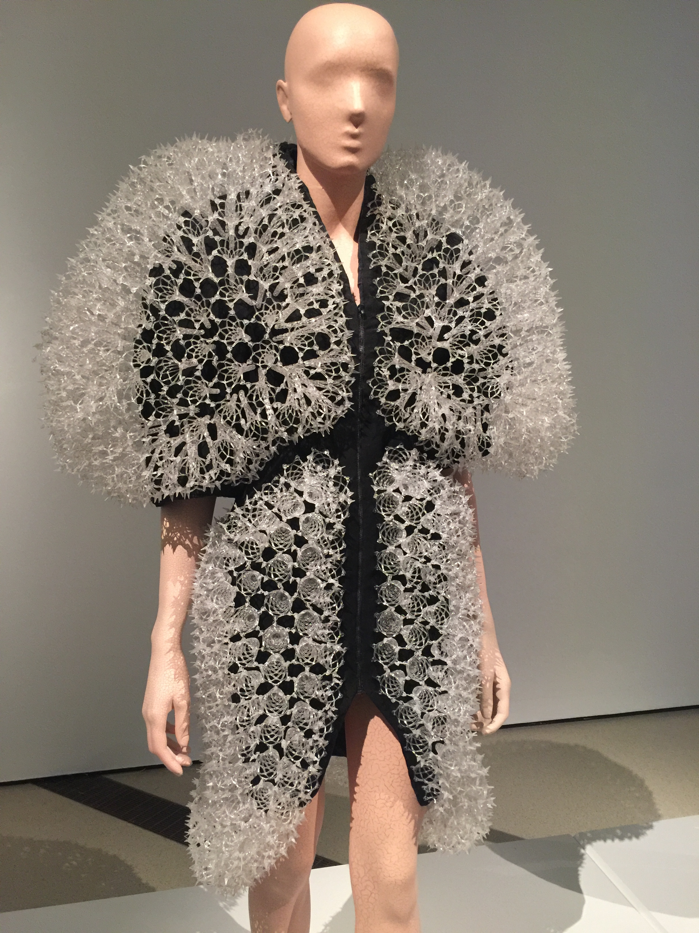 - The dresses take the breath away by their provocative audacity, sculptural architecture, technological prowess and femininity.