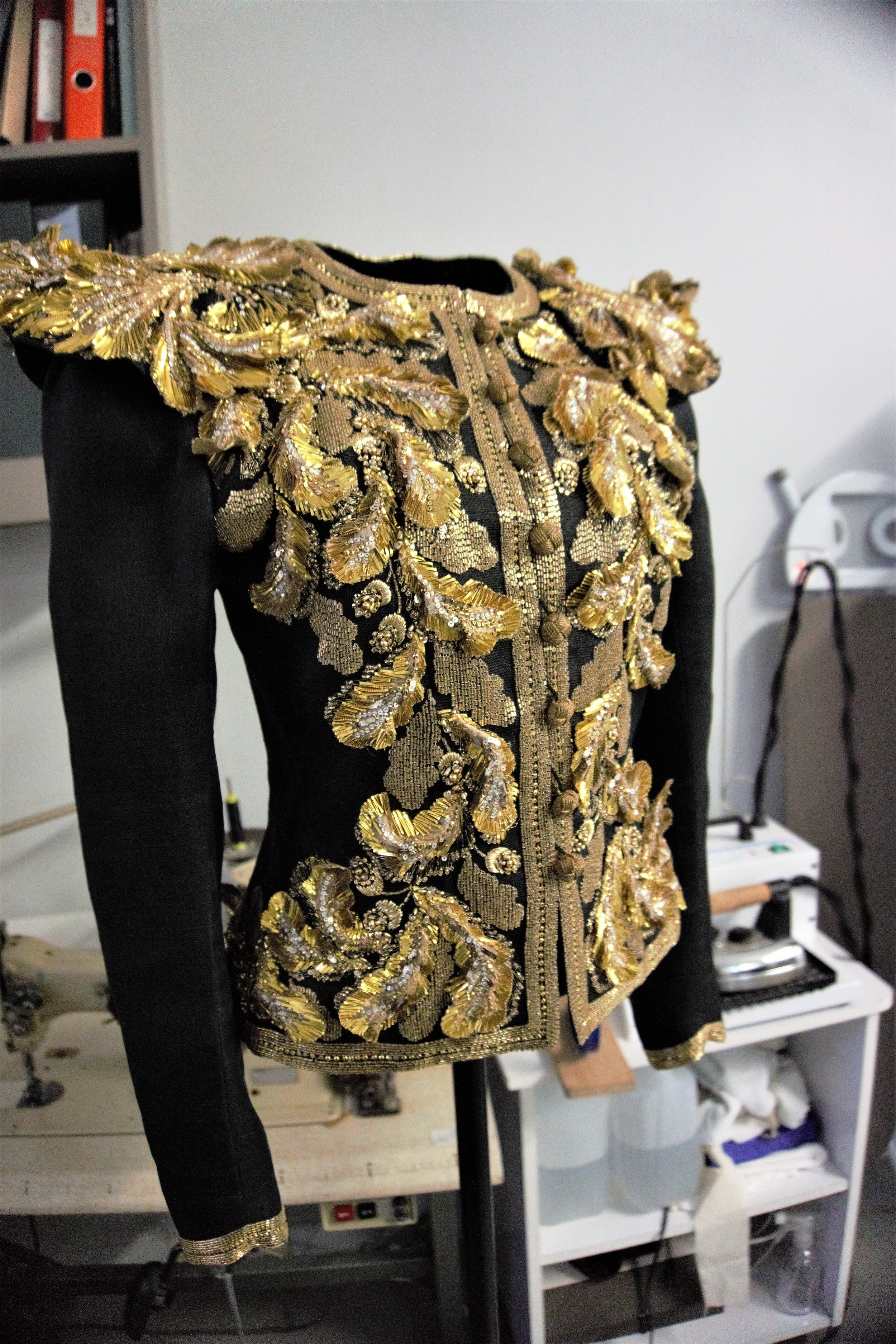 YSL golden embroidery jacket.jpg