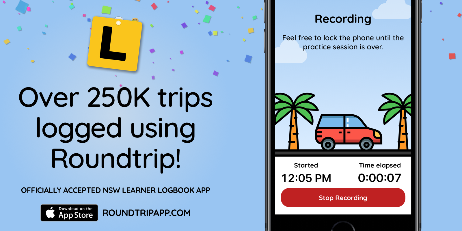 Over 250k trips logged