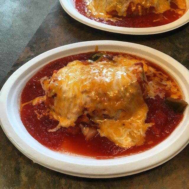 Wet Burrito breakfast!