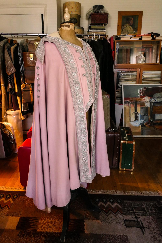 Lavender Wool Cape