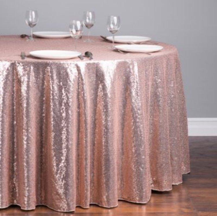Sequin Table Linen