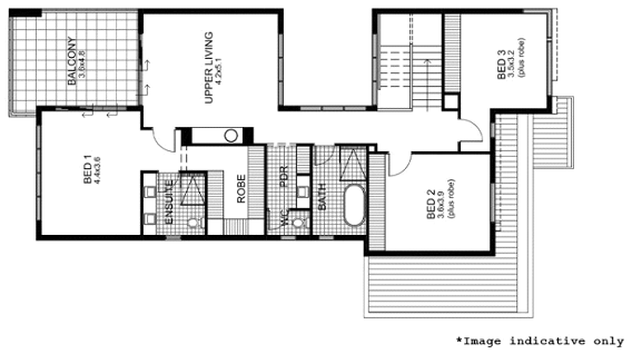 Second Floor - Click to enlarge