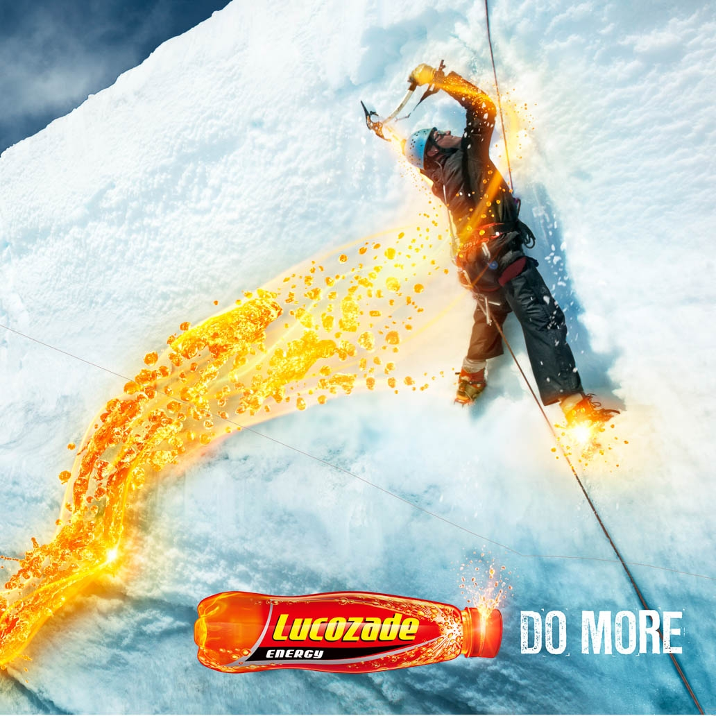 Lucozade - Client: LucozadeLocation: Mt. Hood, WashingtonPhotographer: Jim Fiscus