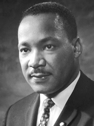 """Martin Luther King Jr.   """"If we are to have peace on Earth... our loyalties must transcend our race, our tribe, our class, and our nation; and this mean we must develop a world perspective."""""""