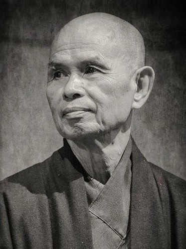 "Thich Nhat Hanh   ""We often think of peace as the absence of war, that if powerful countries would reduce their weapon arsenals, we could have peace. But if we look deeply into the weapons, we see our own minds, our own prejudices, fears and ignorance. Even if we transport all the bombs to the moon, the roots of war and the roots of bombs are still here - in our hearts and minds, and sooner or later we will make new bombs. To work for peace is to uproot war from ourselves and from the hearts of men and women."""