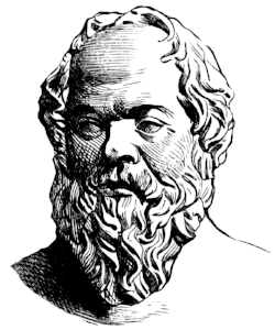 """All wars are fought for the aquisition of wealth.""   -Socrates"
