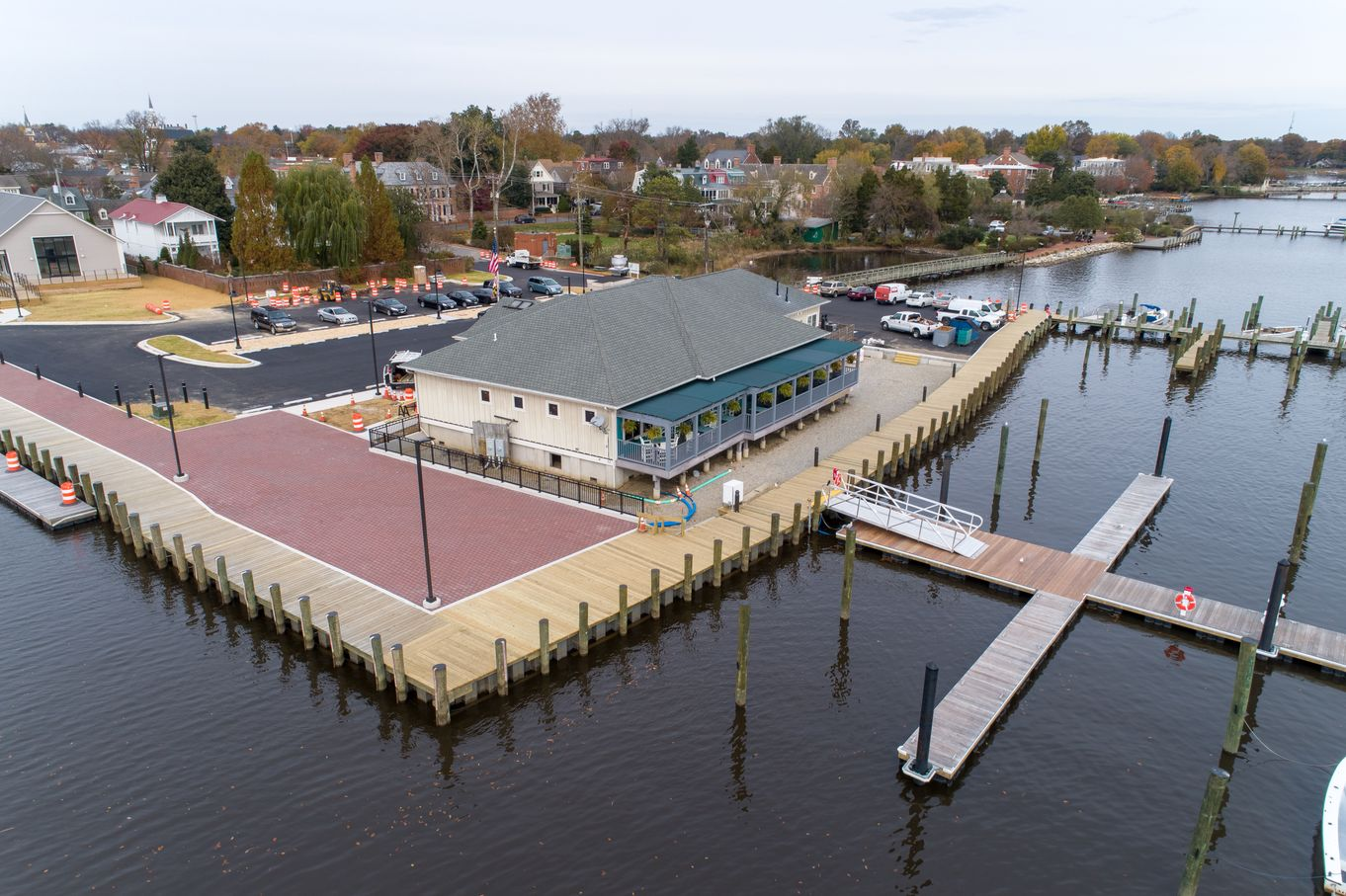 Chestertown Marina Drone Photo 10