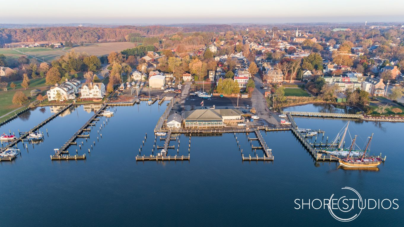 Chestertown Marina Drone Photo | November 2017