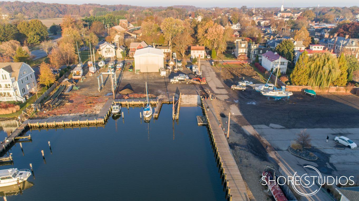 Chestertown Marina Drone Photo 4 | November 2017