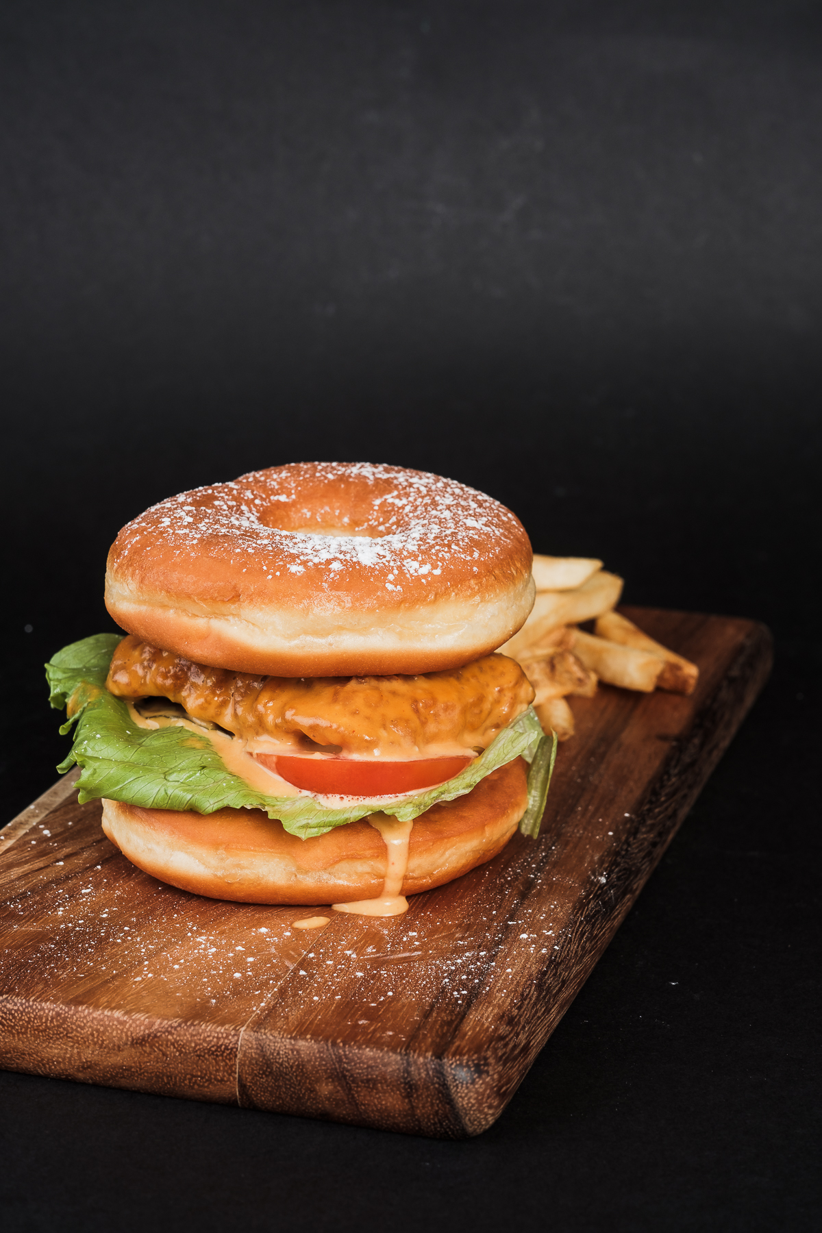Chick Magnet (Salted Egg Katsu Chicken Burger)