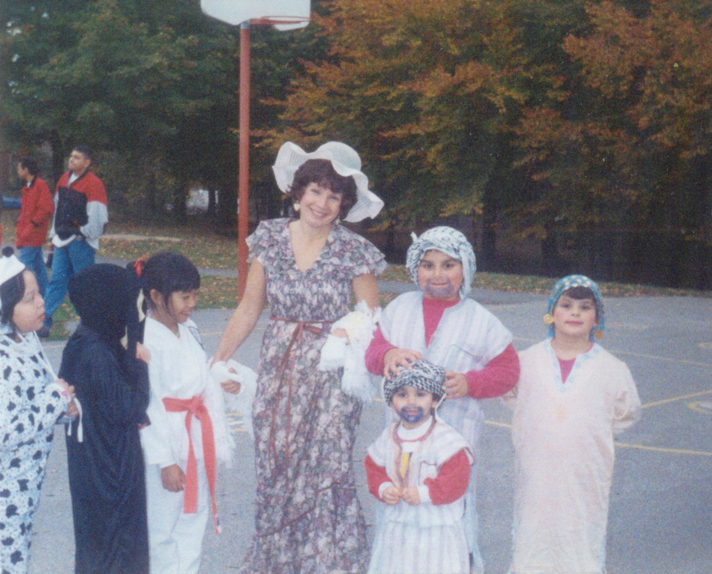 Arabs dressed as arabs in America for halloween