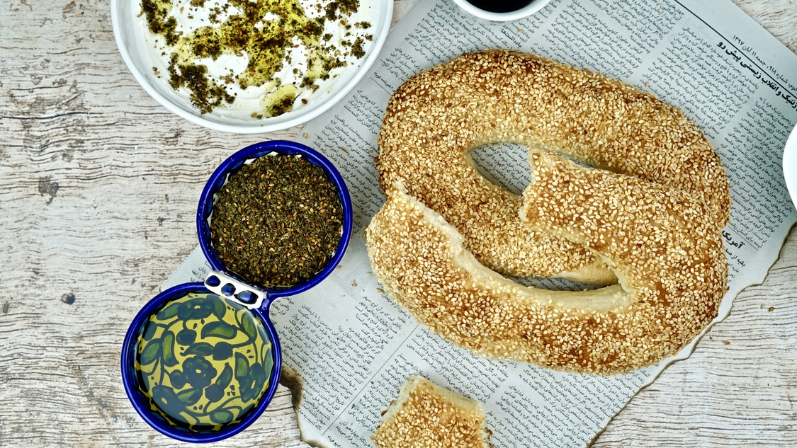 Z&Z stands for zayt and za'atar (oil and za'atar) two of the most integral ingredients in any Arab home.