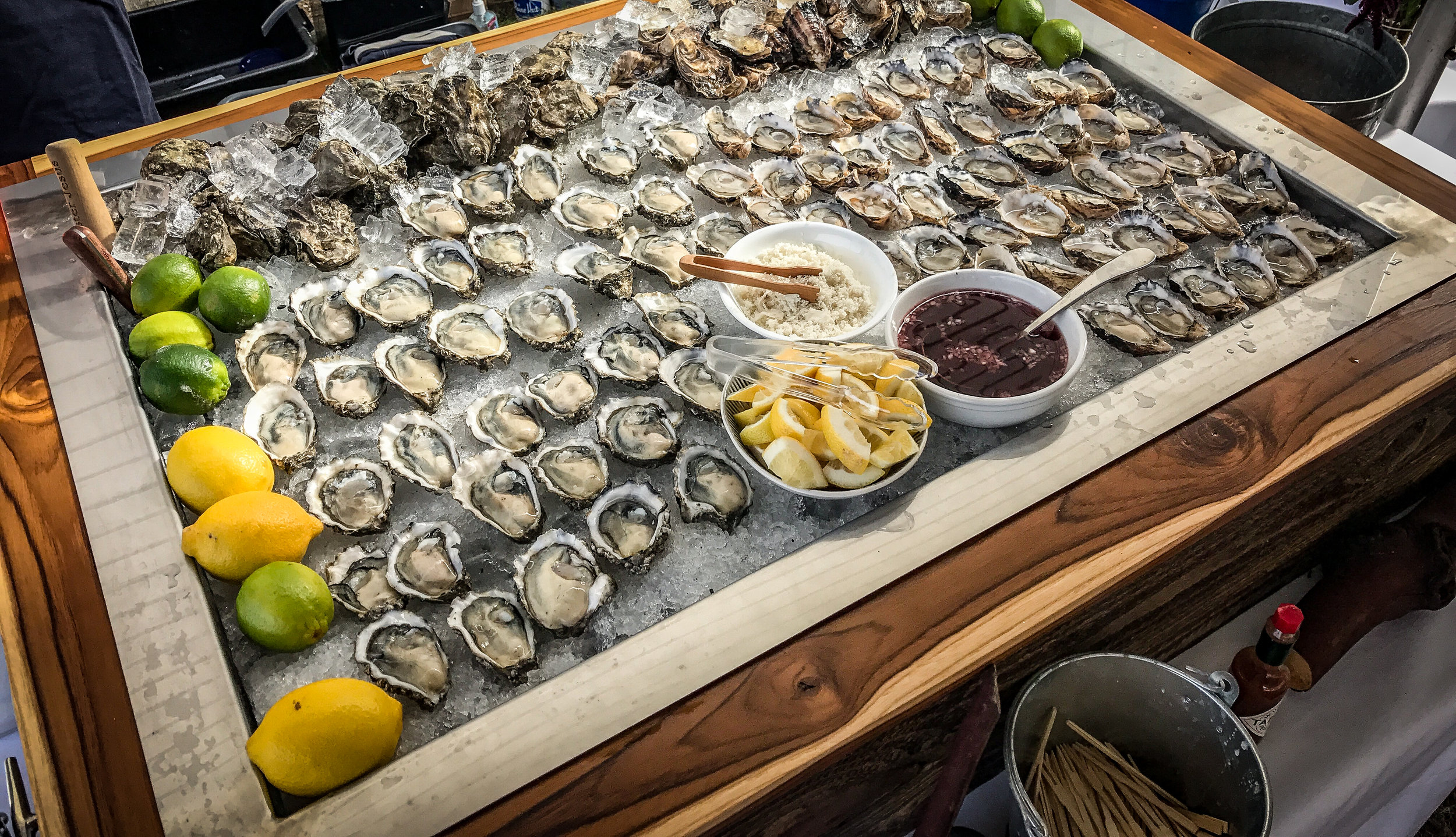 let us create your perfect oyster bar -