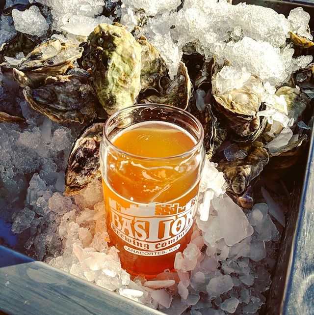 OYSTER HAPPY HOUR TONIGHT 5-8PM  Fresh local oysters and fresh local beer, on a warm summer evening under the sun, what could be a better start to the week?  How about a free oyster with a pint of tonight's beer pairing from @bastion_brewing_company, their Hefeweizen. Come on down, we'll be shucking raw oysters on the half shell and grilling them up too!