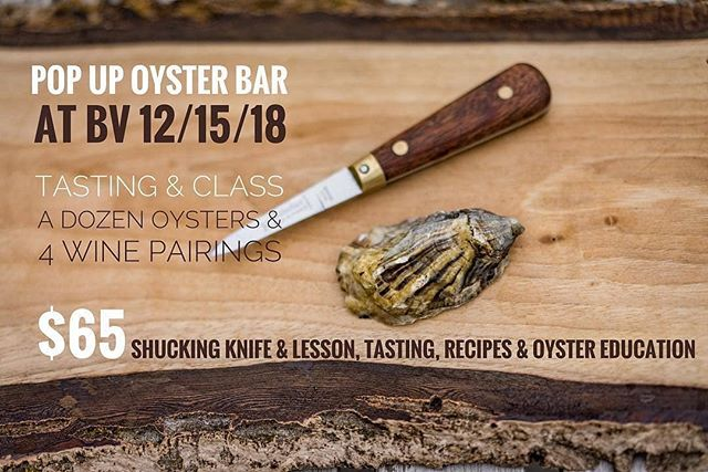 We're headed EAST for the holidays and can't wait to shuck it up at @barvino on December 15th in North Creek, NY! We're gonna bring the brine to the Adirondacks with a battle of the coasts comparing different oyster species, shucking lessons, oyster farming 101, and wine pairings by the lovely @vinogirl79. Can't wait!
