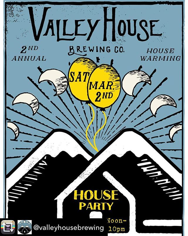 Stoked to be a part of @valleyhousebrewing 's house warming party THIS Saturday, March 2nd. We will be there cracking shells all day, with #twobuckshucks during #oysterhappyhour from 1-2, so be sure stop by for one shell of a good time! #oystersandbeer #getemwhiletheyrecold 🌊🌊🌊🌊🌊🌊🌊🌊🌊🌊 Repost from @valleyhousebrewing using @RepostRegramApp - Live music from the Stillbillys and the Bramble Bros, oysters from @popupoysterbar, beers, food...join us Saturday March 2nd, for our second annual house warming party!!