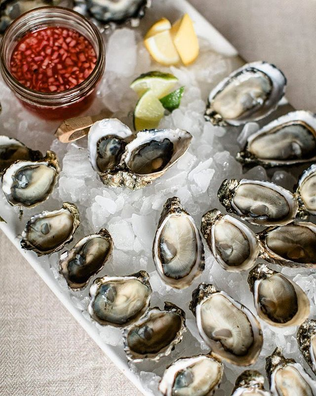 Dreaming of sunshine and seashells. It's almost wedding season!  Oysters, anyone? 🐚 ✨ 🥂 🌞 📸: @alantephotography  #weddingseason #oysters #mobileoysterbar #popupoysterbar #getemwhiletheyrecold #summeriscoming #weencouragegluttony