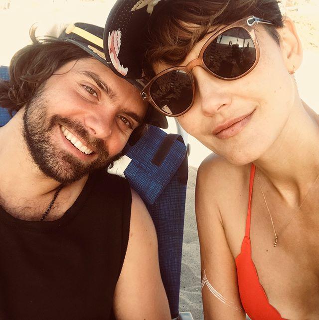 Sunday funday ! Hanging with good peeps at beach !! #felipetarantino #volleyball #sundayfunday
