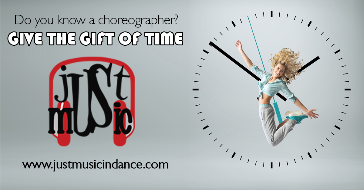 give the gift of time - choreographer gift