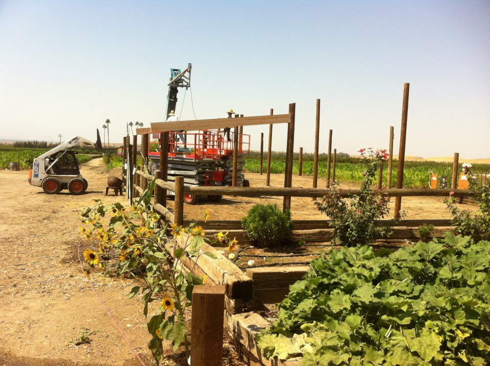 Building our Polebarn