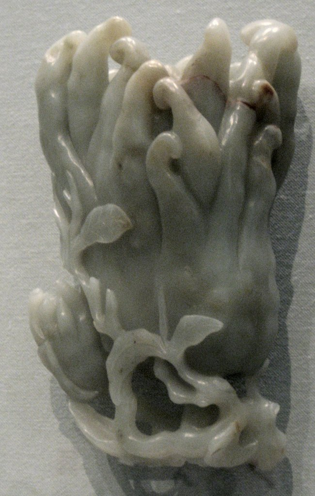 Jade Buddha's hand from the Asian Art Museum in San Francisco