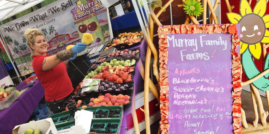 Organic Fruit Available At Your Local Farmer S Market Murray Family Farms