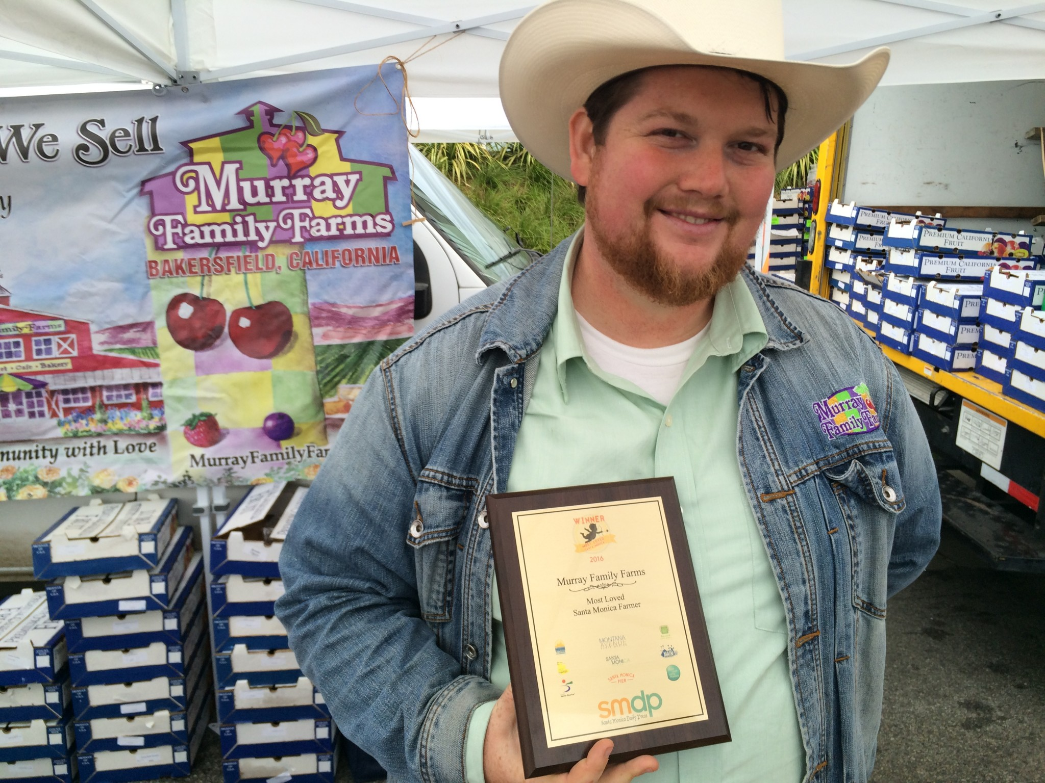 Steven Murray  From Bakersfield California Organic Produce and Family fun events.jpg