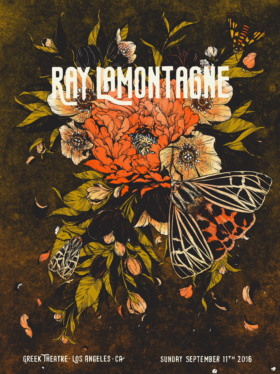 Ray LaMontagne at the Greek Theatre