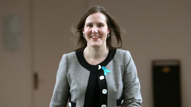 The Hon. Kelly O'Dwyer MP, Founding IWF Australia Member and speaker at the IWF Global Cornerstone Conference in Melbourne, May 2-4, 2018