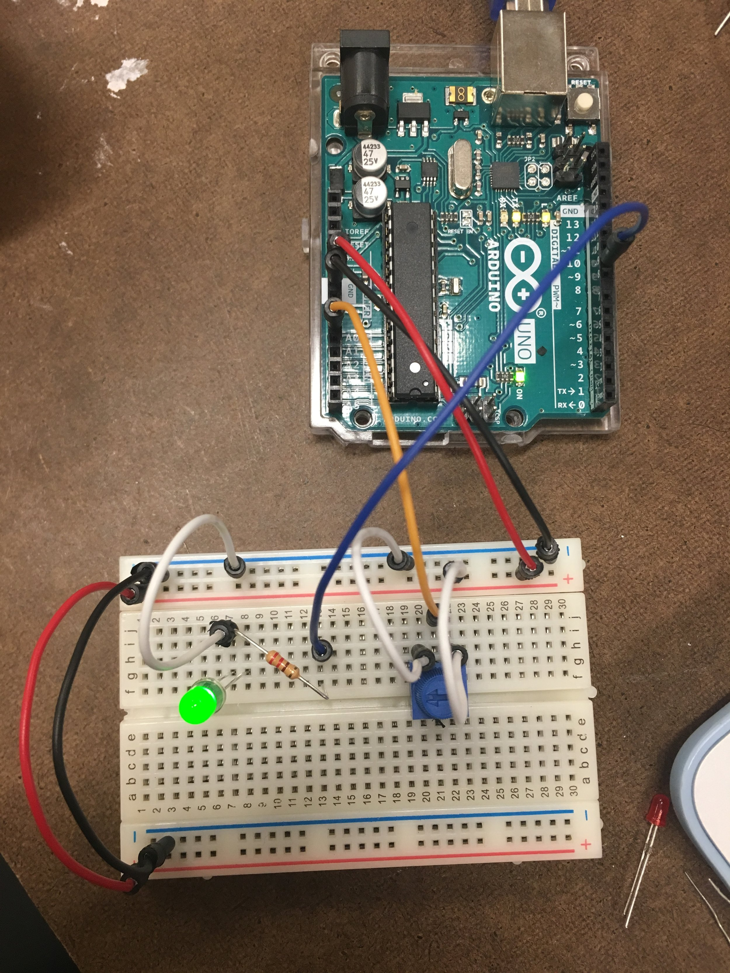 Lab3: Analog in with Arduino