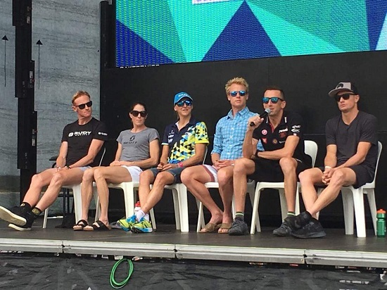 Pro Panel for Ironman Australia