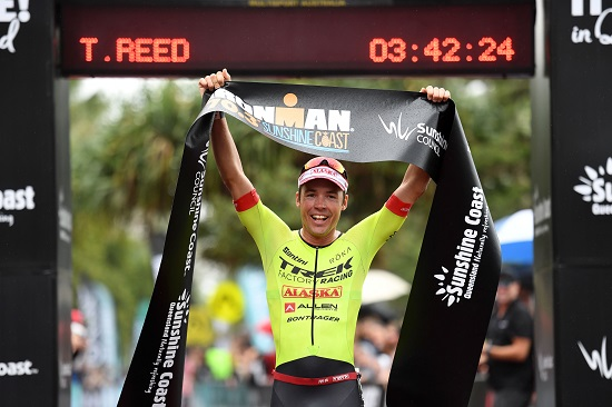 Tim Reed - Winner of the IRONMAN 70.3 Sunshine Coast