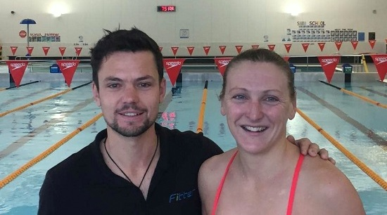 Tim Brazier and Laura Siddall