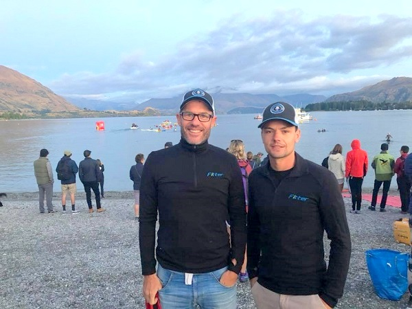 Bevan and Tim - Lake Wanaka