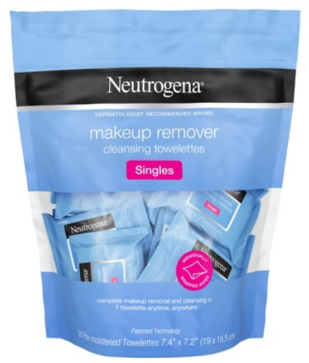 Neutrogena Cleansing Facial Wipes Single Use