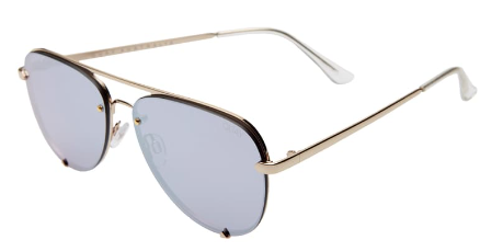 x Desi Perkins High Key Mini 53mm Rimless Aviator Sunglasses