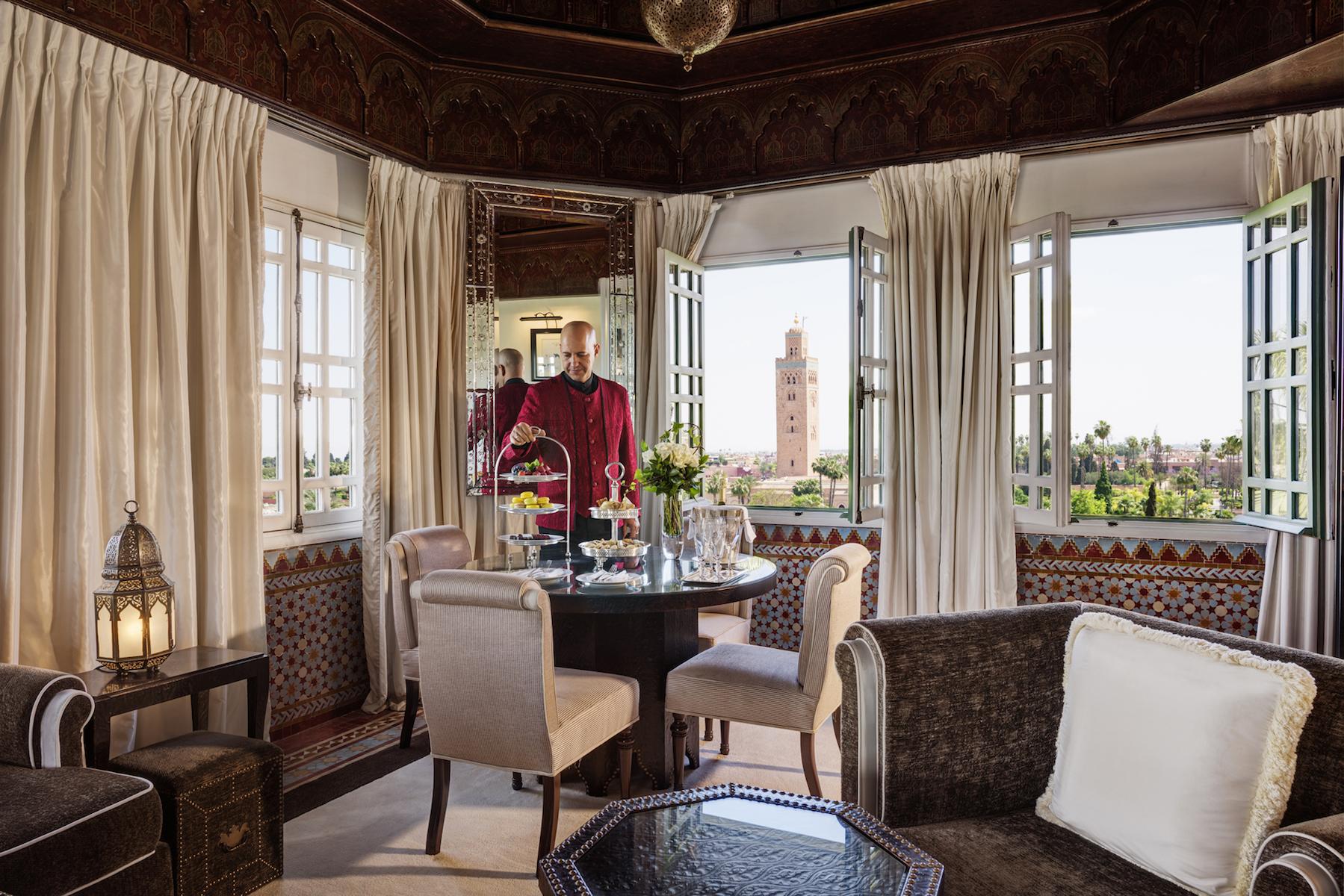 Morocco – La Mamounia's Koutoubia Suite
