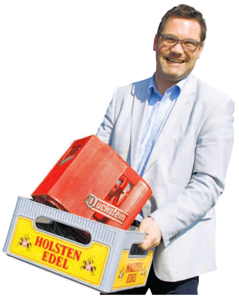 Sven Heiser ist Geschäftsführer bei Quandt Getränke   Foto: Müller