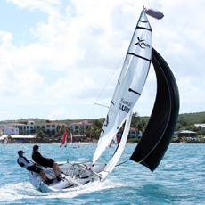 XENON - · International Award Winning Design, ISAF 'Learn to sail' Class· Two person racing machine!· Intermediate – Racer