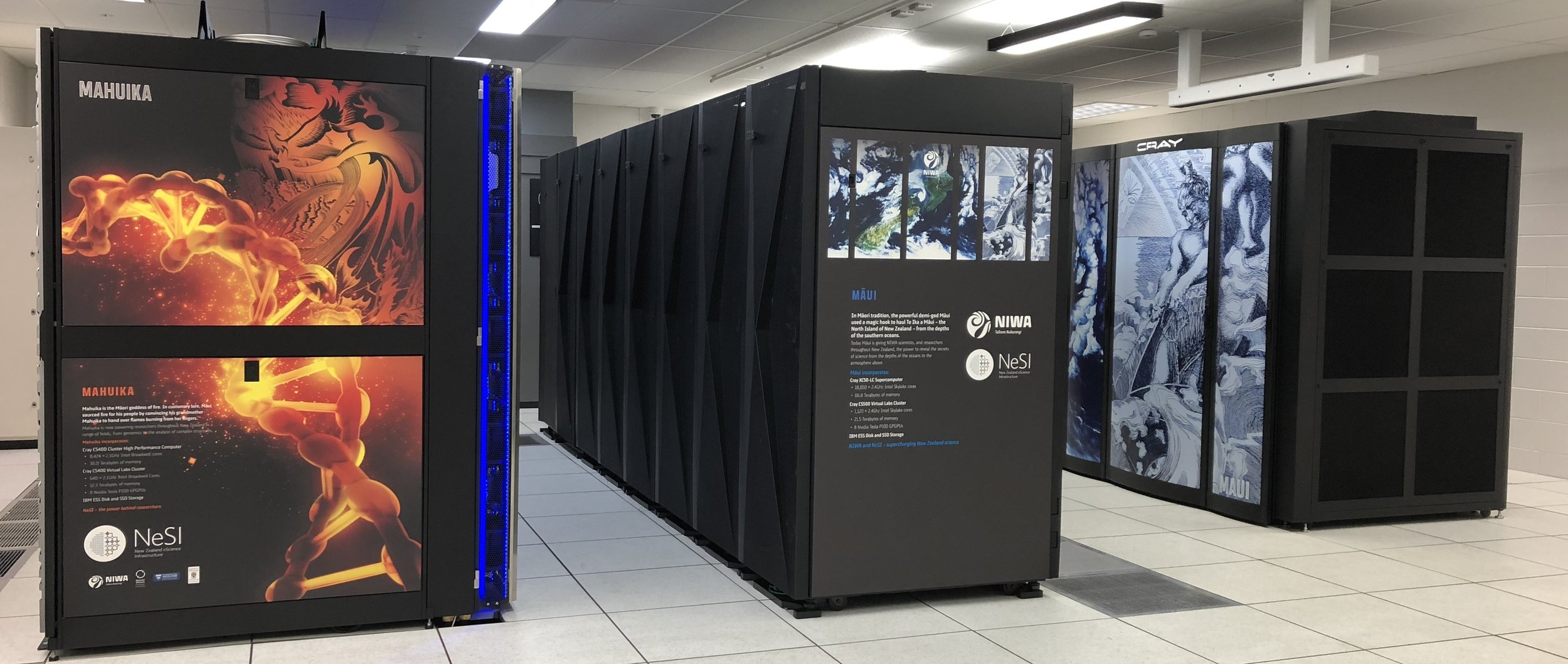 NZ eScience InfrastructureNew Zealand 2015 - Our senior leadership helped re-design New Zealand's High Performance Computing Infrastructure to better support a collaborative approach to research and innovation for New Zealand.