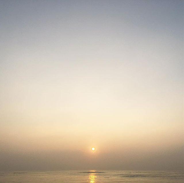 #Sunrise #BayOfBengal #federicodifrescoYoga