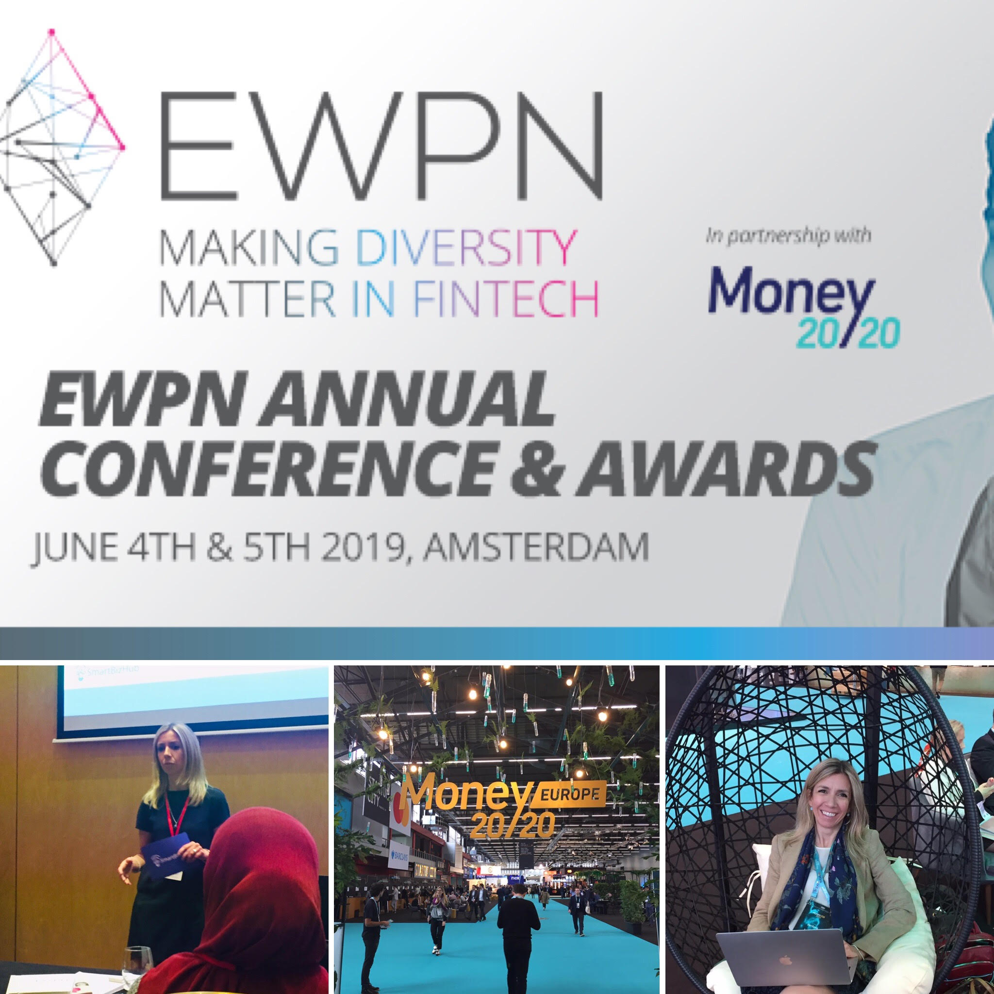 EWPN 2019, AMSTERDAM - Like-minded leaders, successful women and men in FinTech, committed to promoting talented female founders, bridging the gender gap, normalising diversity and inspiring future generations. I spoke about adapting our working culture, shifting its focus and values to reflect a more modern world and diverse society.If we don't, we will still only funnel one particular type of person to the top, and that is not usually a woman, and increasingly not a male role model that many are inspired by. The focus should not be on integrating into not-so-good systems, but on transforming them, promoting new role models to break the cycles of outdated cultures. A correlated, and very important theme discussed was wellbeing, mental and emotional . energy, and recovery for sustainable high performance. We are bridging the gap between knowing and doing, one achievement at a time.Check out the key take-aways and pictures.