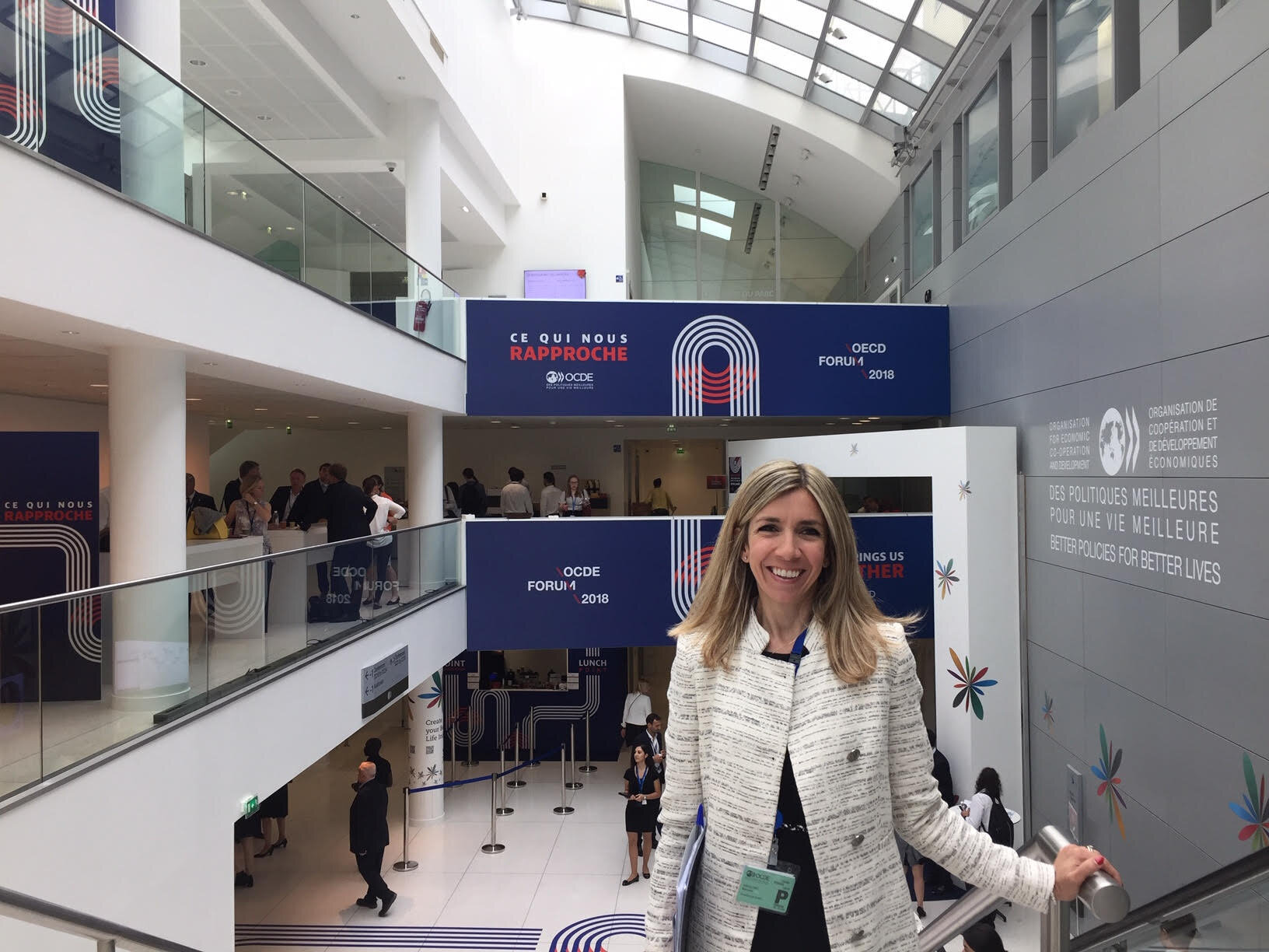 OECD SUMMIT 2018, PARIS - OECD Summit, Paris, May 2018. Strong interest and focus across governments and business world to drive the #futureofwork, and tackle challenges such as the polarization of the job market (high vs low skilled) head-on, leveraging the power of #education to #reskill, #upskill, help the workforce to adapt, increasing #EQ and hashtag#AQ in the process. The most attended sessions of the Summit? Those about D&I, gender equality, future of work.
