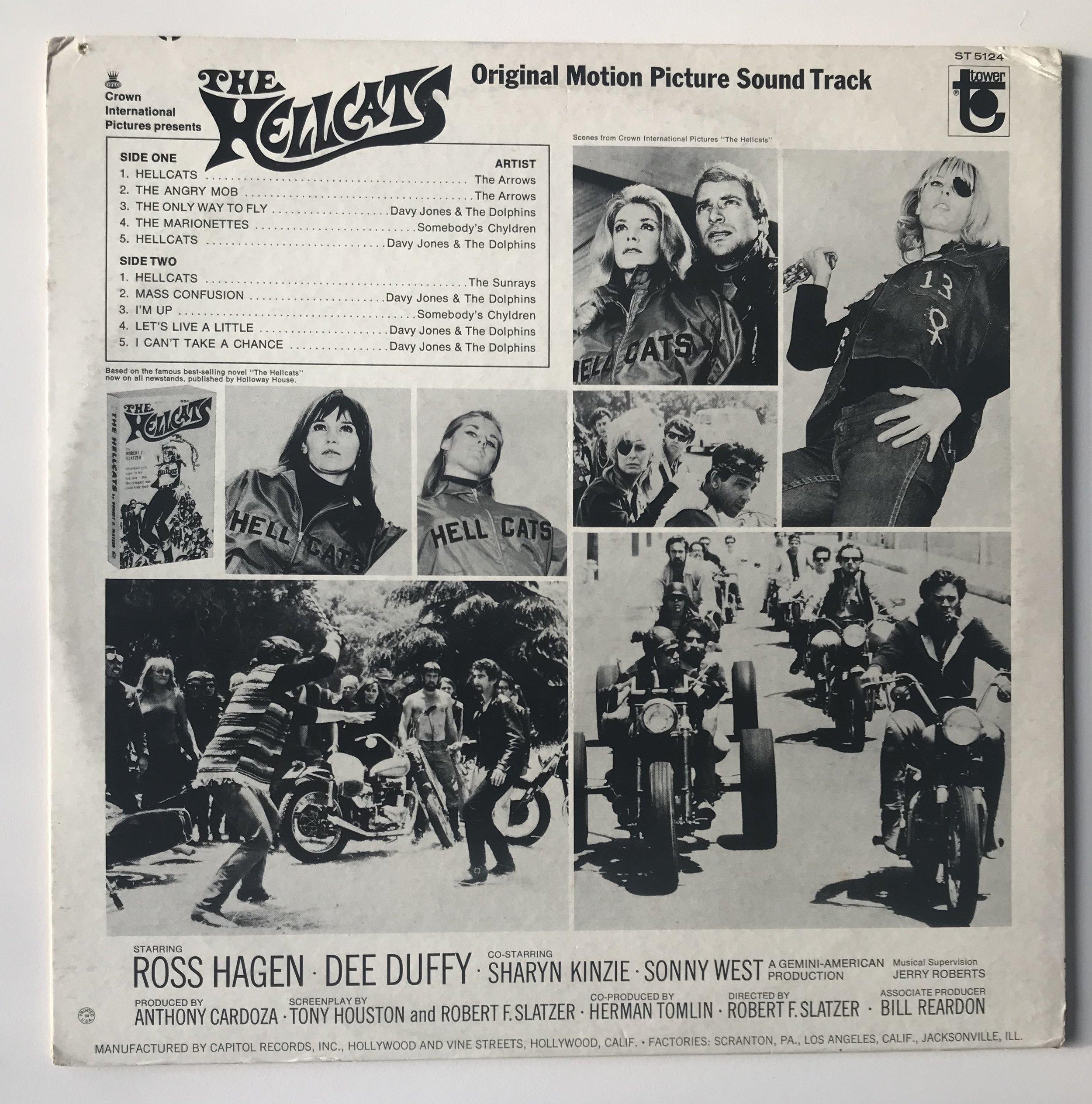biker movie soundtracks — Peter Stanfield