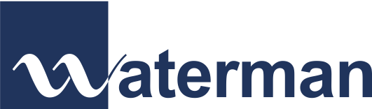 Waterman logo blue transparent.png